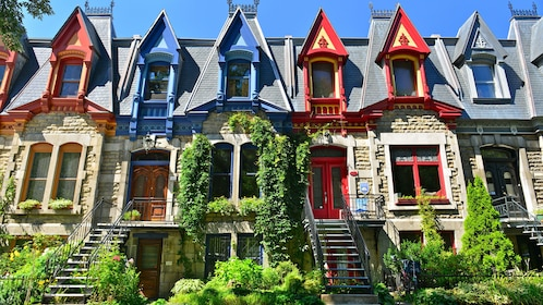 Victorian style architecture in Quebec City