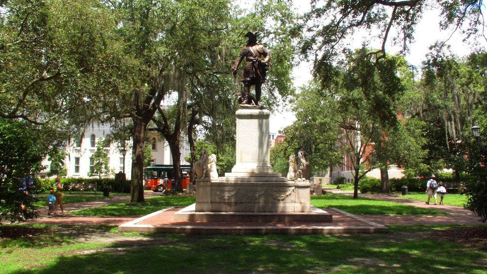 Show item 2 of 10. Historic park in Savannah