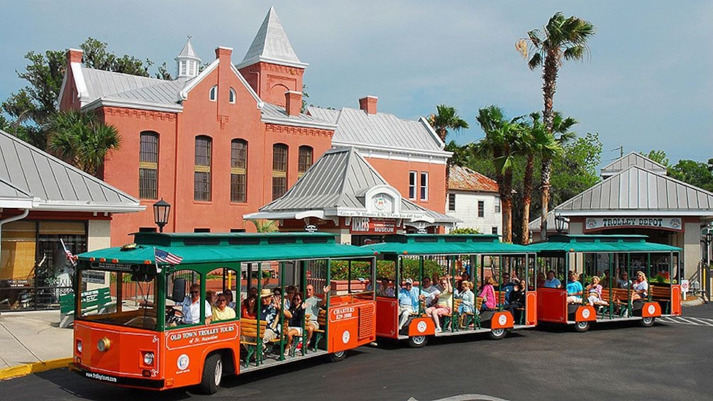 Trolley tour to St Augustine's Authentic Old Jail