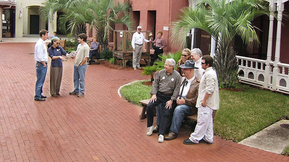 Walk around the historic districts within St Augustine, the oldest town in America