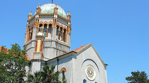 Historic cathedral Basilica in St Augustine, Florida