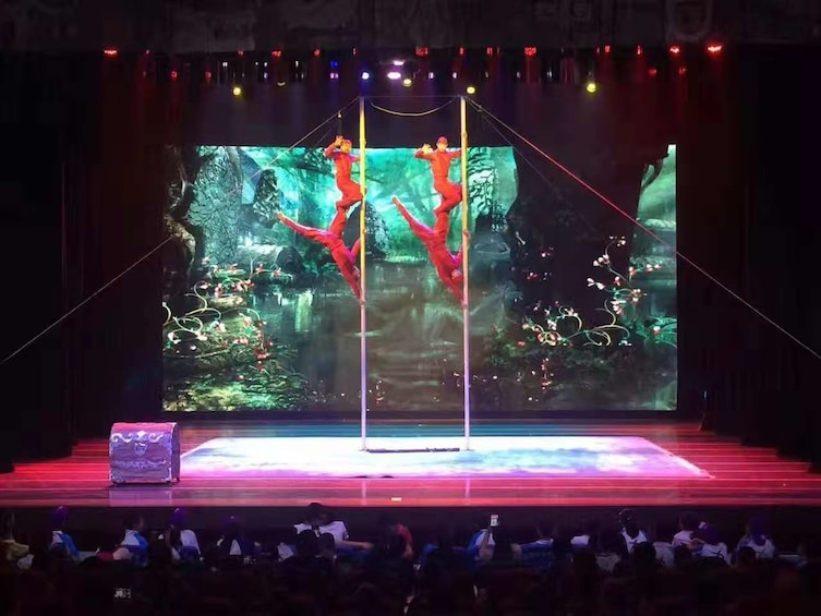 Show item 10 of 10. Beijing Acrobatic Night Show with Transfers