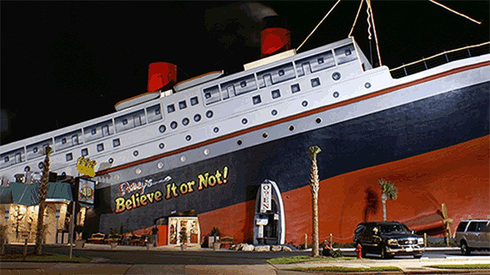 Admission to Ripley's Believe It or Not! Odditorium