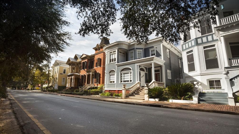Show item 2 of 4. Historic homes in Savannah, Georgia