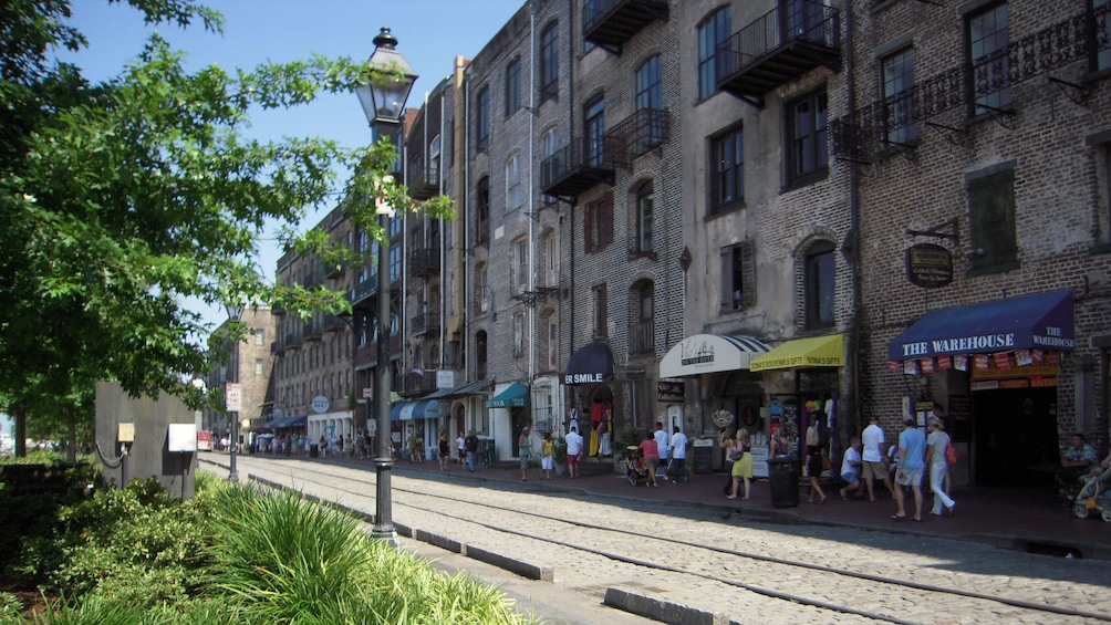 Show item 3 of 8. Stroll through the historic district in Savannah, Georgia to discover US Civil War history