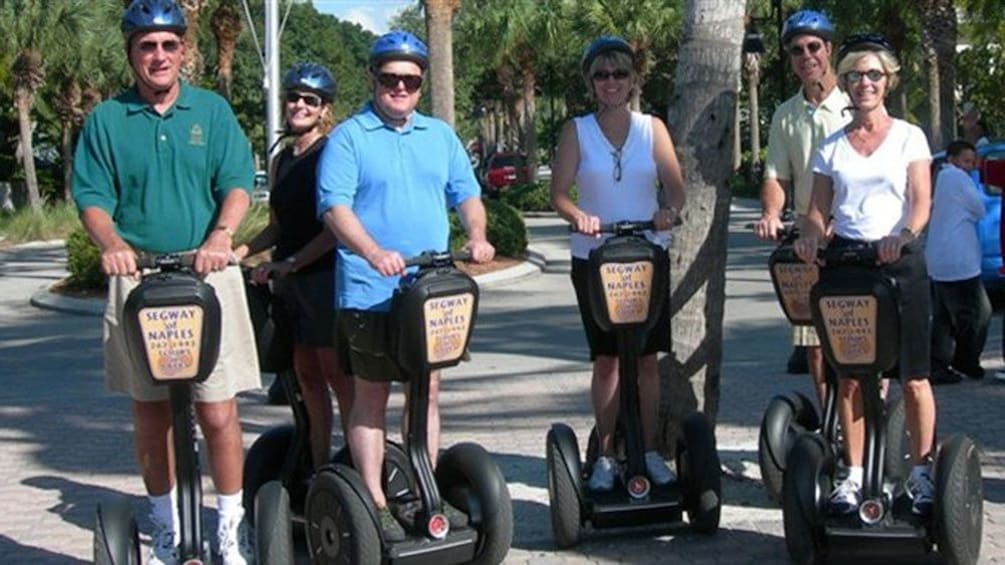 Show item 1 of 5. Group on segways in Naples