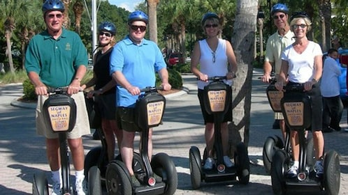 Group on segways in Naples