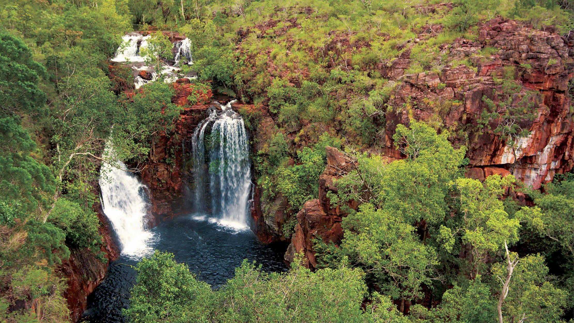 Waterfall in Darwin