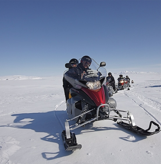 Super Jeep & Snowmobile Tour of the Golden Circle