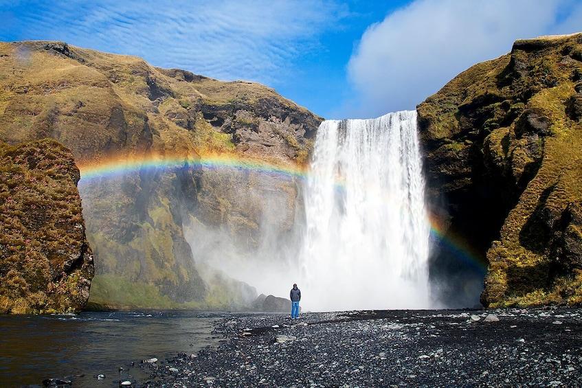 South Coast Waterfalls & Jökulsárlón Glacial Lagoon Tour