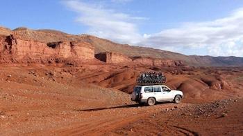 Excursión de 1 día a la ruta de las kasbahs, con almuerzo