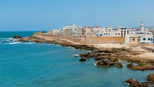 Walled city on the coast in Essaouira