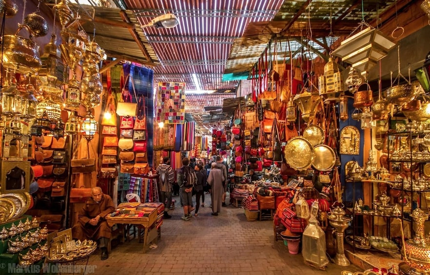 Foto 5 von 9 laden Mystical Marrakech Medina and Souks on foot