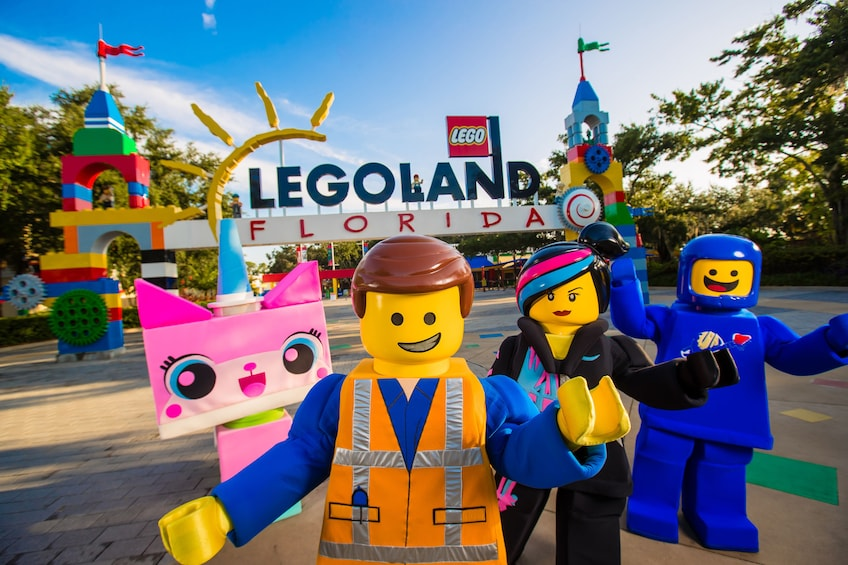 Open foto 1 van de 10 LEGOLAND® Florida Tickets