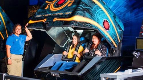 3D ride in Orlando