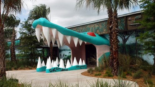 Entrance to Gatorland Theme Park in Orlando.