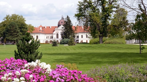 Landscape view of the Godollo Palace in Hungary