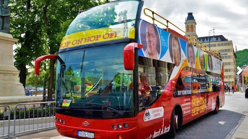 Hop On Hop Off bus in Budapest