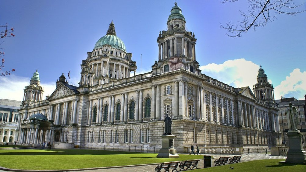 Show item 4 of 10. Gorgeous view of Belfast City Hall