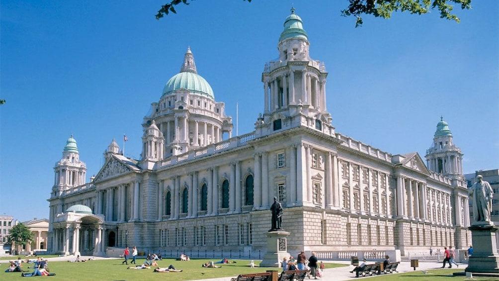 Show item 1 of 10. City Hall in Belfast Northern Ireland