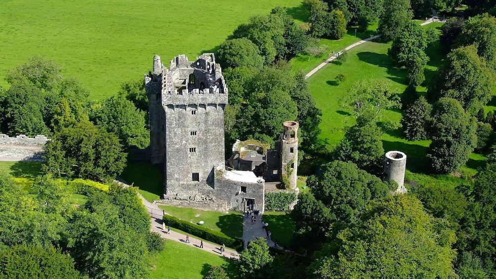 The Blarney Castle in Ireland