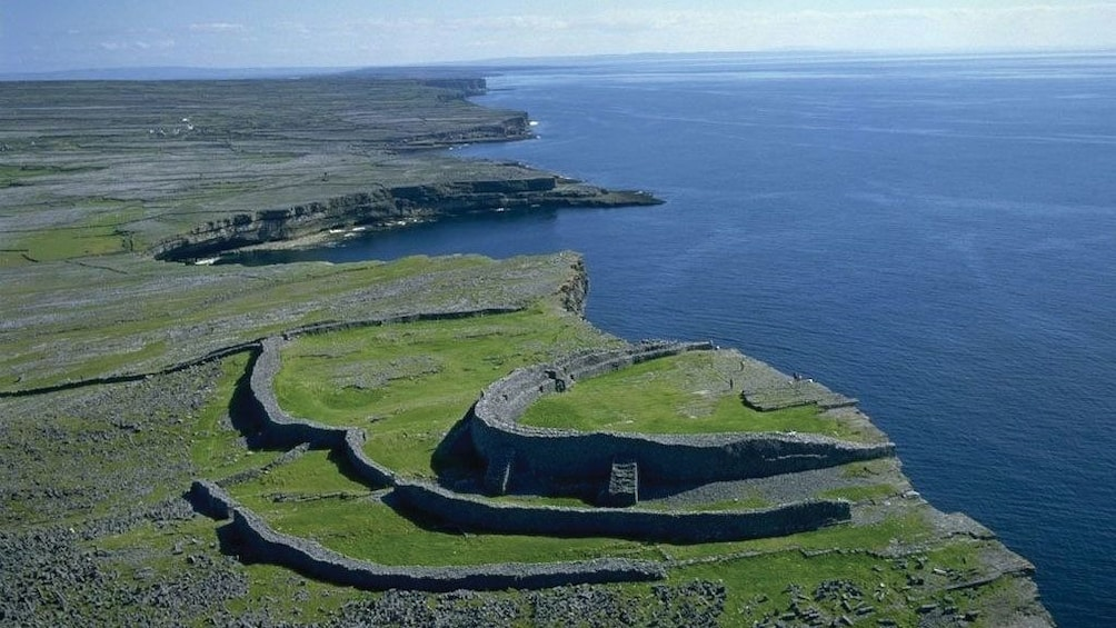 Show item 3 of 5. Stronghold ruins along the coast of Ireland