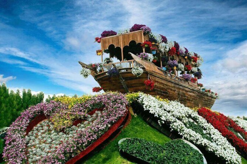 Show item 2 of 13. Dubai Miracle Garden Ticket with Transfer