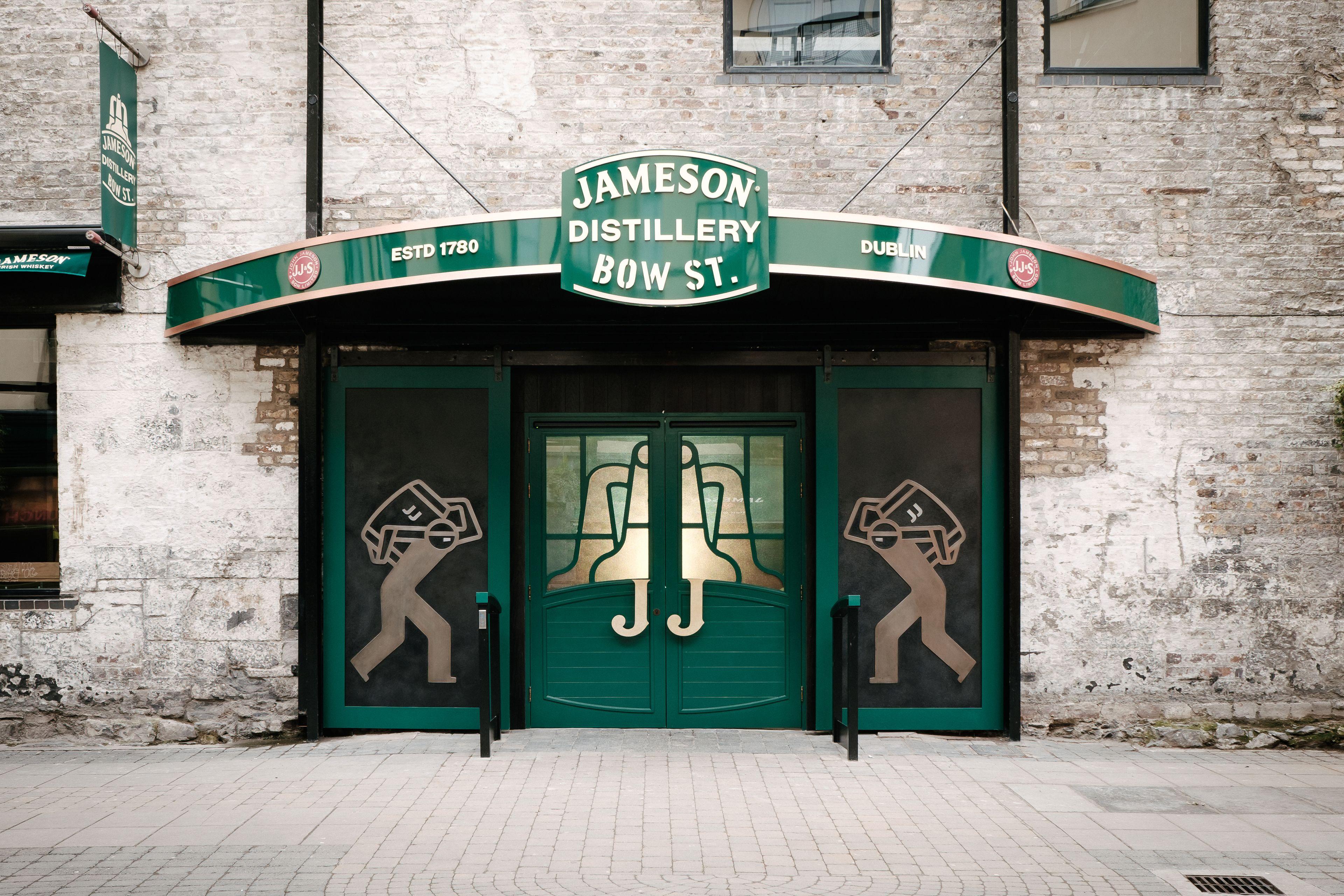 Tur på Jameson Distillery Bow St