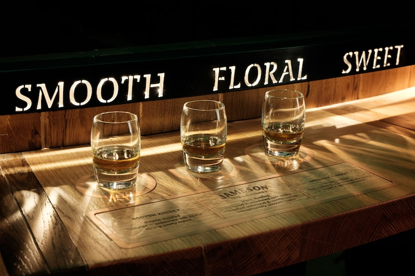 Show item 8 of 8. Jameson Distillery Guided Tour & Comparative Whiskey Tasting