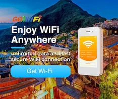 [GoWiFi] Taiwan Travel 4G Pocket WiFi Pick Up at TPE airport