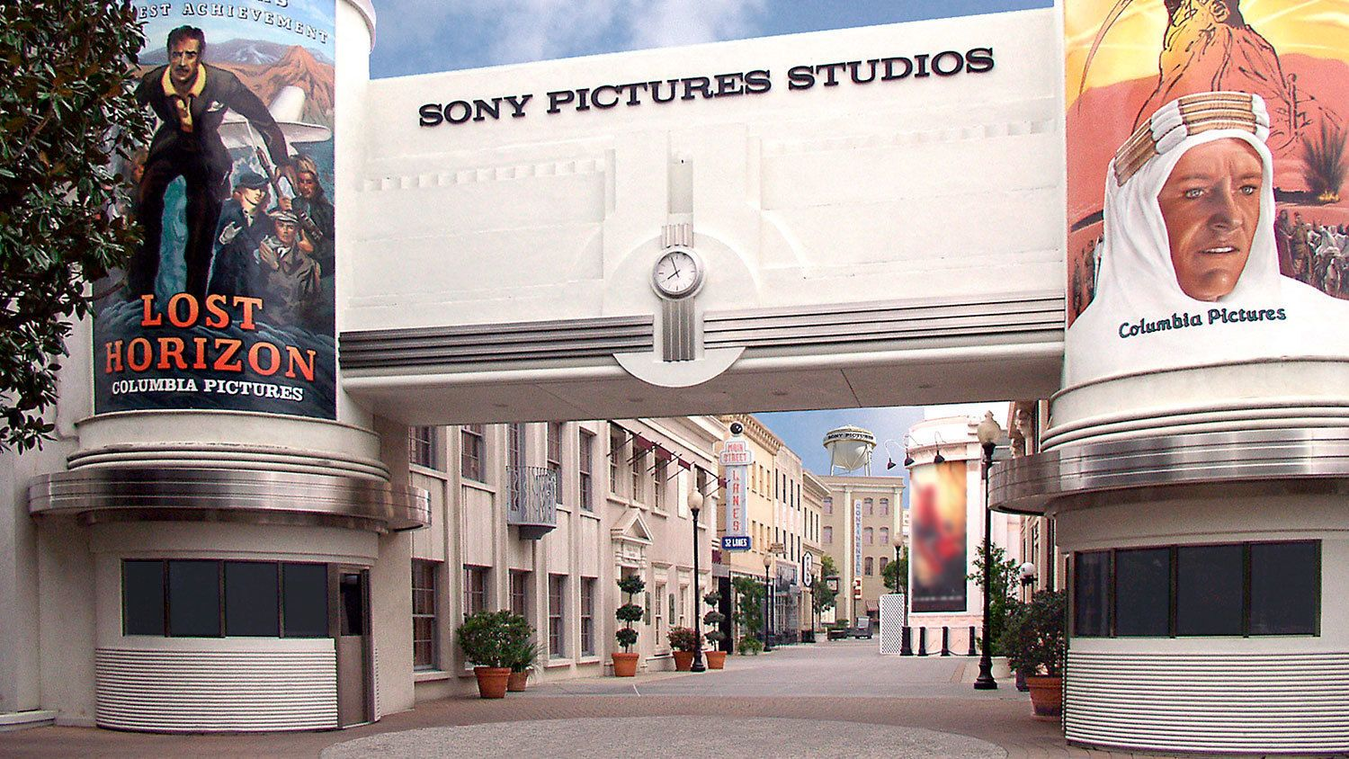 Sony Pictures Studios Entrance.