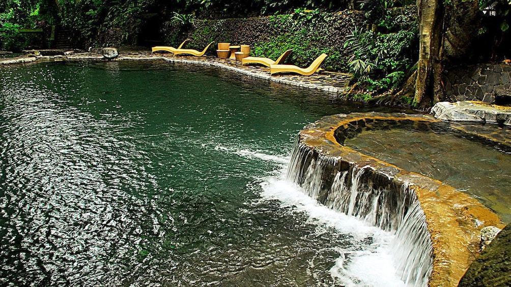 Show item 3 of 6. Pool at resort in Manila