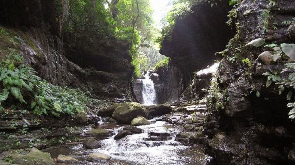 Show item 2 of 6. Waterfall and shallow spring at Hidden Valley Resort