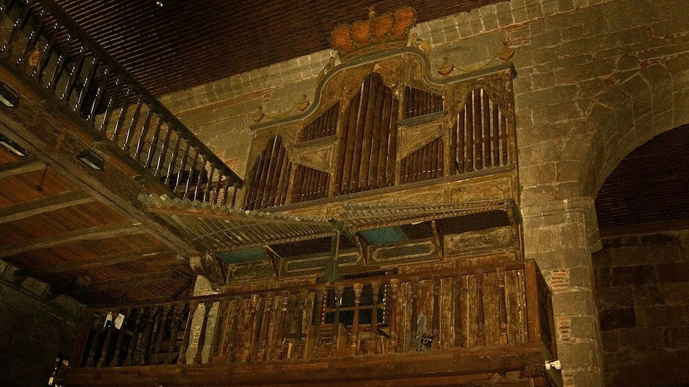 Show item 2 of 5. Famous bamboo organ at Las Pinas Church in Tagaytay
