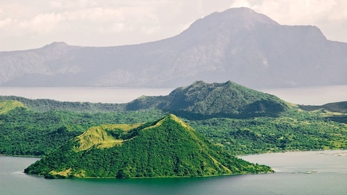 Taal Volcano in Taal Lake in Tagaytay