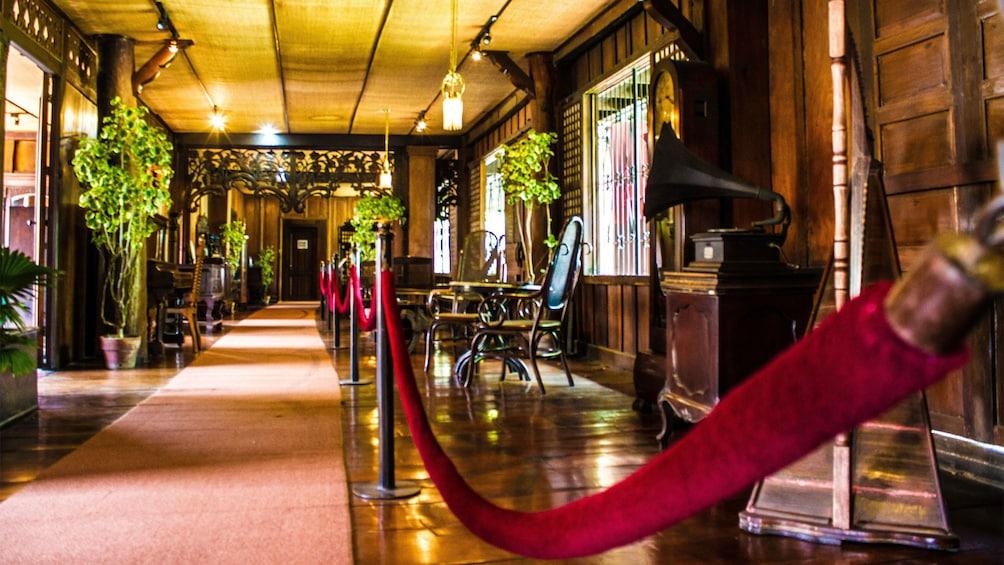 Show item 4 of 5. Inside a historic building in Cebu