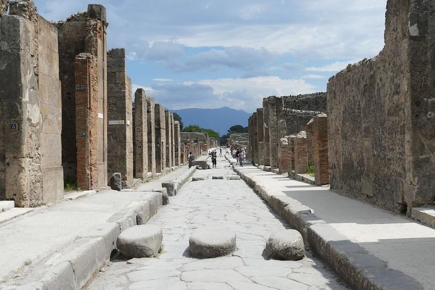 Pompeii & Mount Vesuvius Tour from Naples