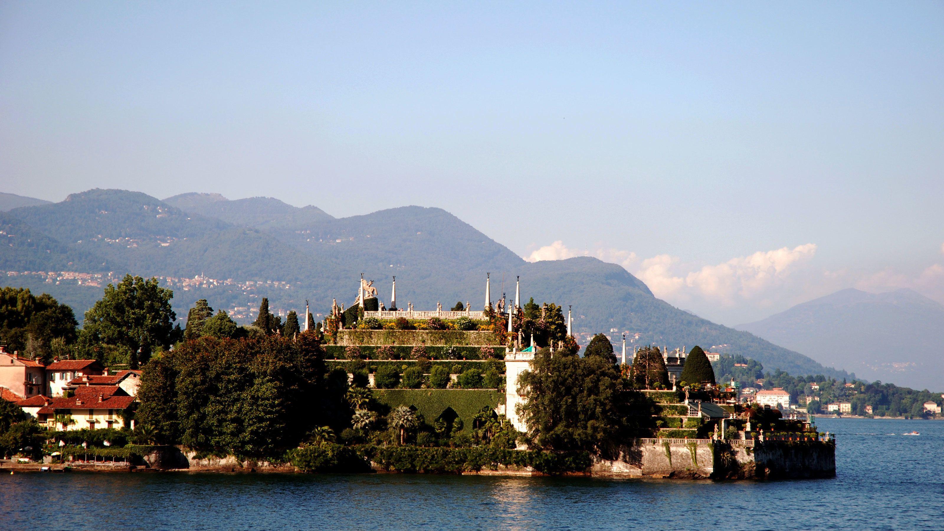 Lake Maggiore near Milan
