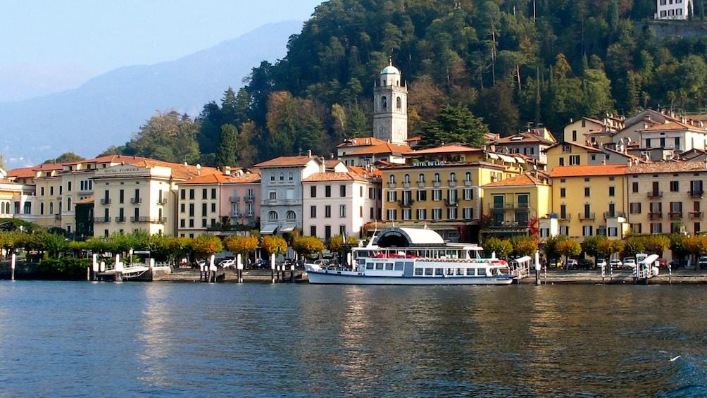 Lake como near Milan, Italy