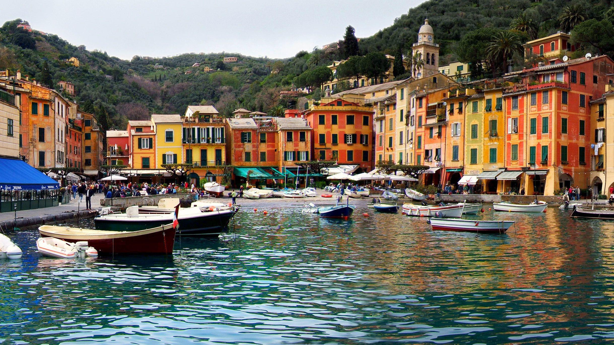 Visite d'une journée à Gênes et Portofino