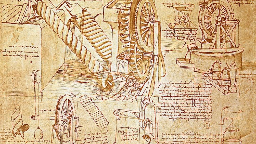 Apri foto 1 di 6. DaVinci drawings in Italy