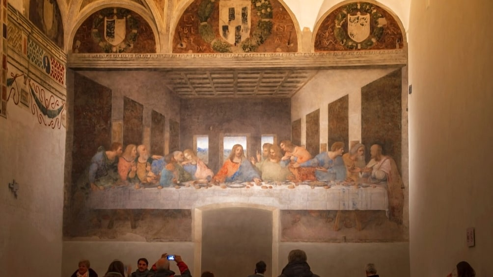 Foto 1 von 9 laden Skip-the-Line Da Vinci's Last Supper & Codex Atlanticus