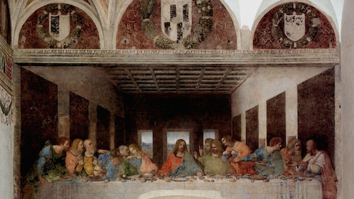 the last supper painting in italy