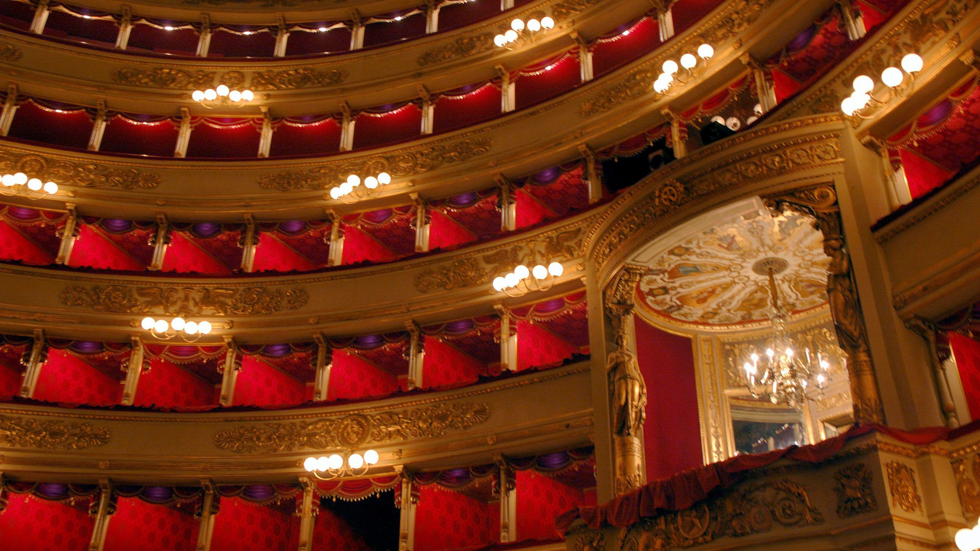 Rundgang durch das Teatro alla Scala und das Scala-Museum