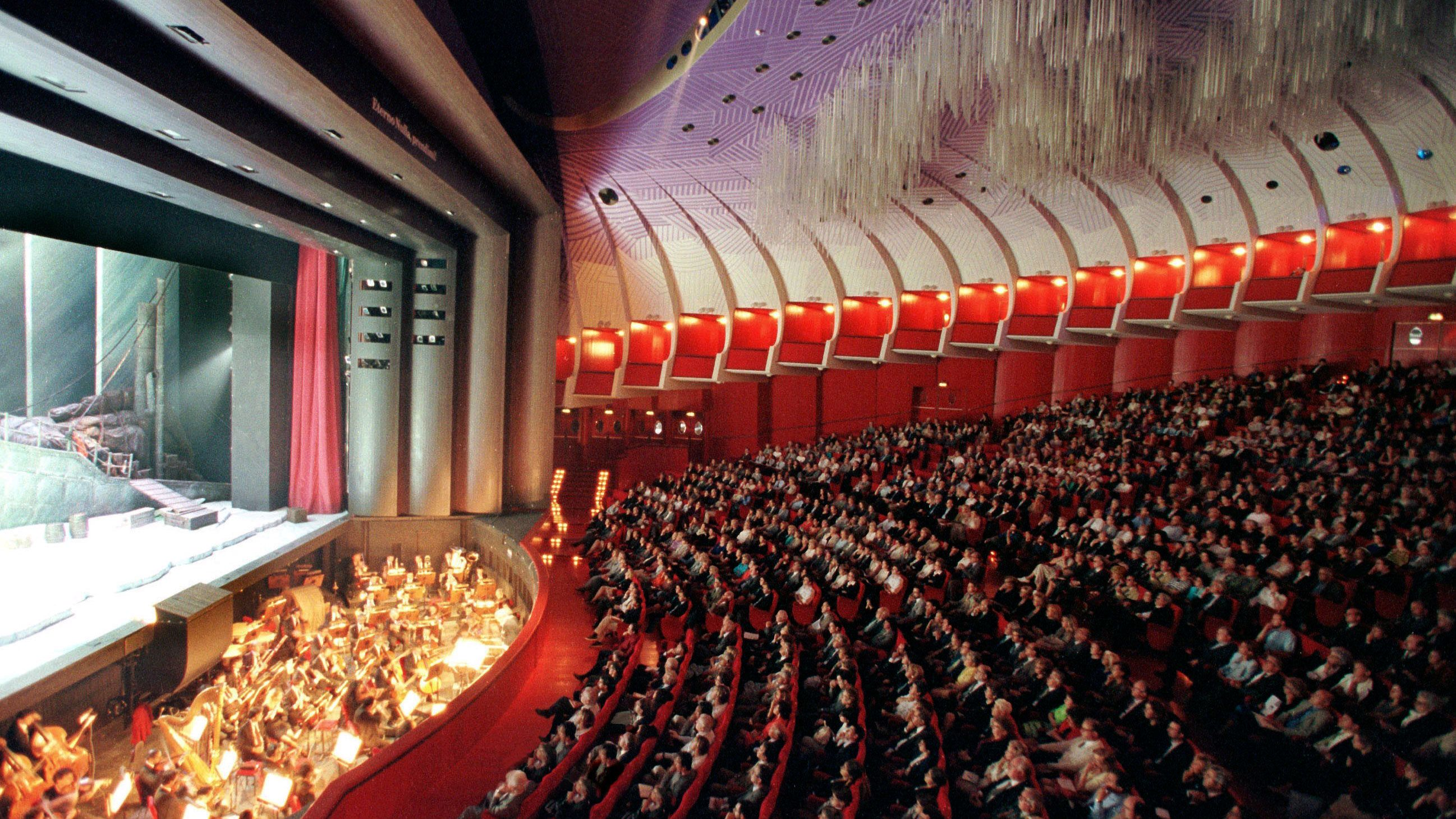 A full house at a theater in Turin