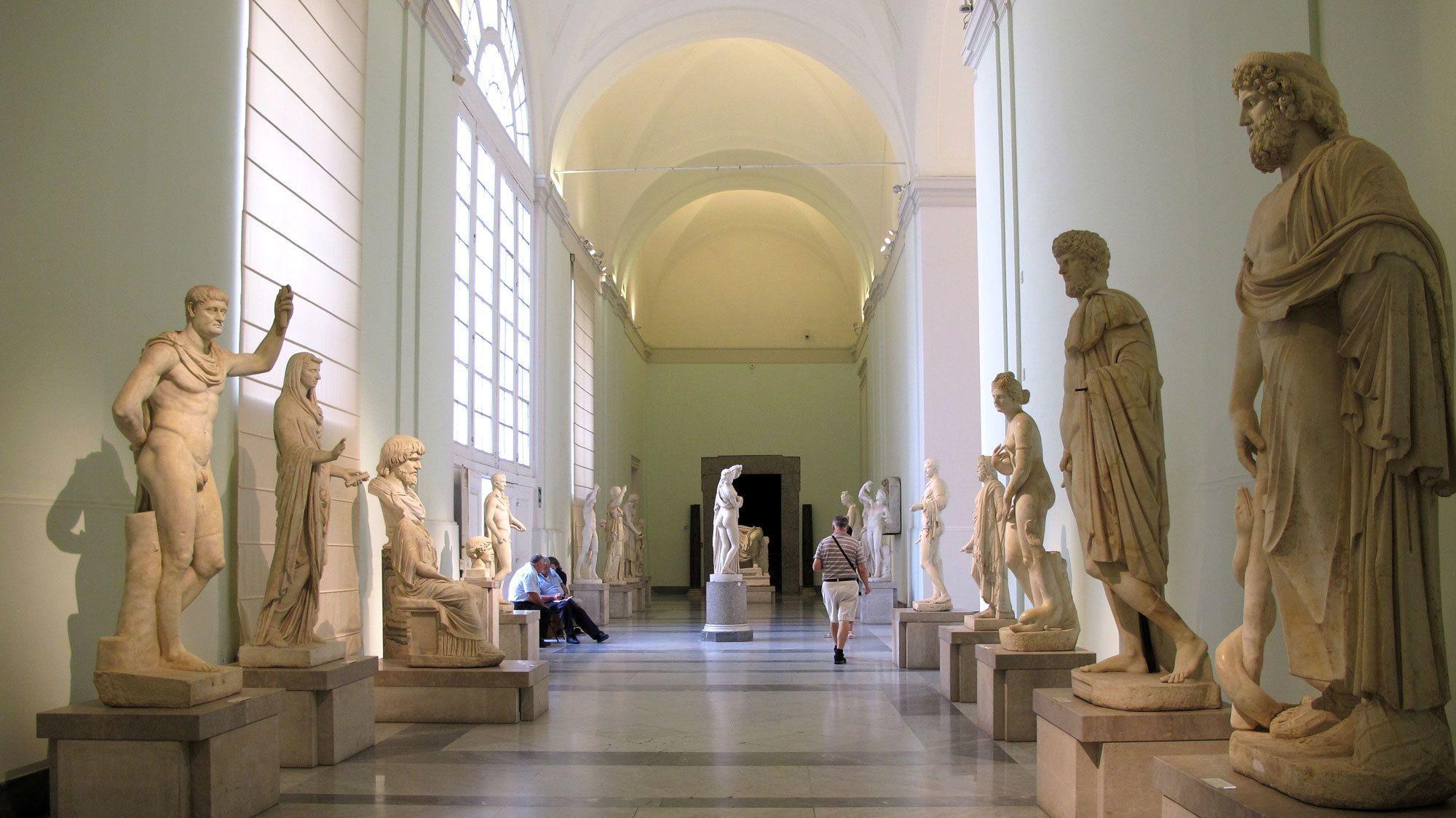 Eintrittskarte für das Archäologische Nationalmuseum Neapel