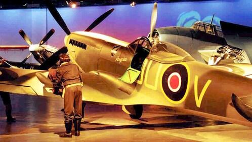 war plane in Christchurch