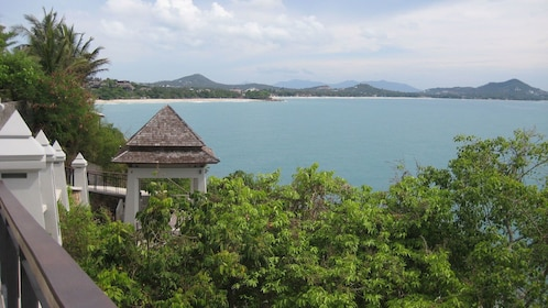Coast line view in Koh Samui