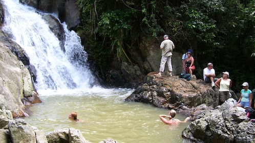 Waterfall in Koh Samui