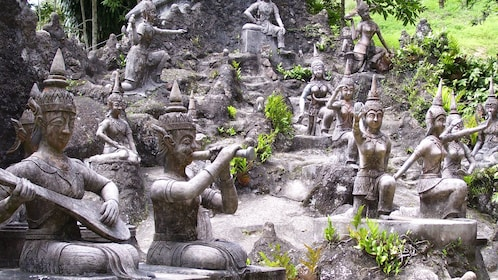 Group of statues in Koh Samui